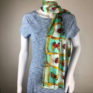 Butterfly and Ladybug Scarf